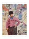 A Dutch Fisherman Giclee Print by Mortimer Ludington Menpes