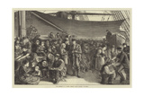 The Steerage of a North German Lloyd's Atlantic Steam-Ship Giclee Print by Matthew White Ridley
