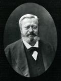 Edmond Felix Valentin About (1828-85), from 'Galerie Contemporaine', C.1874-78 Fotografisk trykk av  Nadar