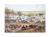 Battle of Gettysburg, 1891 Reproduction procédé giclée par Paul Dominique Philippoteaux
