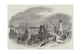 Ramsgate Harbour Reproduction procédé giclée par Myles Birket Foster