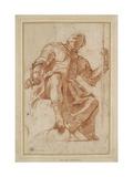 Study for a Knight of Malta Giclee Print by Mattia Preti