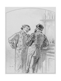 La Goutte, Plate 17 from Les Toquades, 1858 Giclee Print by Paul Gavarni