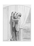 Le Portrait De La Prima Donna, Plate 4 from Les Toquades, 1858 Giclee Print by Paul Gavarni