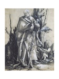 St John in the Forest Giclee Print by Matthias Grunewald