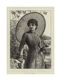 In the Garden Giclee Print by Matthew White Ridley