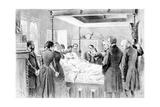 The Last Moments of Victor Hugo (1802-85) 22nd May 1885, Engraved by Adrien Marie (1848-91) 1885 Gicléedruk van  Nadar