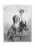 Toqués, Toqués, Plate 1 from Les Toquades, 1858 Giclee Print by Paul Gavarni