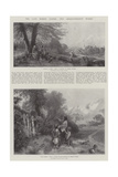 The Late Birket Foster, Two Characteristic Works Reproduction procédé giclée par Myles Birket Foster