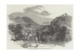 Spas of England, Matlock-Bath, Derbyshire Reproduction procédé giclée par Myles Birket Foster