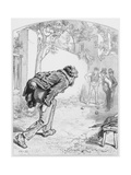 Les Boules, Plate 11 from Les Toquades, 1858 Giclee Print by Paul Gavarni