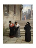 His Reverence, 1876 Giclee Print by Philip Hermogenes Calderon