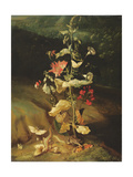 Still Life with Flowers Giclee Print by Otto Marseus Van Schrieck