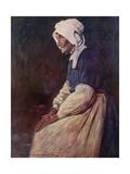 A Breton Woman Giclee Print by Mortimer Ludington Menpes