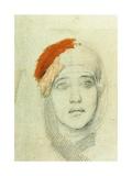Study for the Virgin, 1884 Giclée-Druck von Mikhail Aleksandrovich Vrubel