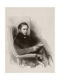 Raymond La Garrigue, 1842 Giclee Print by Paul Gavarni