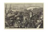 London Bridge Giclee Print by Matthew White Ridley