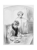 La Réussite, Plate 12 from Les Toquades, 1858 Giclee Print by Paul Gavarni