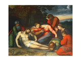 The Lamentation of Christ Giclée-Druck von Otto van Veen