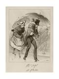 C'Était Bien Composé, Pas Vrai Laurent, 1838 Giclee Print by Paul Gavarni