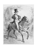 Le Locati, Plate 18 from Les Toquades, 1858 Giclee Print by Paul Gavarni