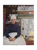At Volendam Giclee Print by Mortimer Ludington Menpes