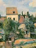 Moulin De La Couleuvre at Pontoise, 1881 Giclee Print by Paul Cézanne