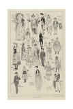 The Children's Fancy Dress Ball at the Mansion House Giclee Print by Phil May