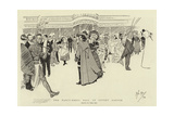 The Fancy-Dress Ball at Covent Garden Giclee Print by Phil May