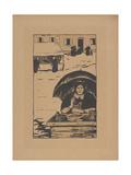 La Marchande Ambulante (The Street Vendor) 1895 Gicléetryck av Paul Serusier