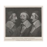 Armand Jean Du Plessis, Cardinal De Richelieu Giclée-vedos tekijänä Philippe De Champaigne