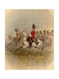 2nd or Royal North British Dragoons, 1885 Giclee Print by Orlando Norie