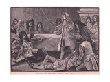 The Fracas in the Privy Council Ad 1711 Giclee Print by Paul Hardy