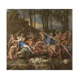 The Triumph of Pan, 1636 Stampa giclée di Nicolas Poussin