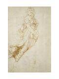 Study for the Figure of Melpomene Reproduction procédé giclée par  Raphael