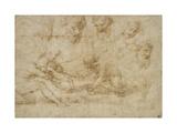 Studies for a Deposition Reproduction procédé giclée par  Raphael
