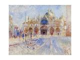 The Piazza San Marco, Venice, 1881 Reproduction procédé giclée par Pierre-Auguste Renoir