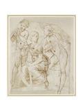 Group of Musicians Reproduction procédé giclée par  Raphael