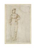 St Catherine Reproduction procédé giclée par  Raphael