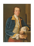 Joseph Henry of Straffon Giclée-tryk af Pompeo Girolamo Batoni