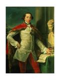 Portrait of a Gentleman Giclée-tryk af Pompeo Girolamo Batoni