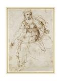 Allegorical Figure of Theology Reproduction procédé giclée par  Raphael