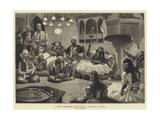 A Night Entertainment During Ramazan, at Scutari, in Albania Reproduction procédé giclée par Richard Caton Woodville II