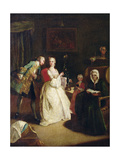 The Declaration of Love Giclee Print by Pietro Longhi