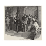 The Divorce Court Reproduction procédé giclée par Robert Barnes