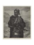 The War, a Turkish Outpost Reproduction procédé giclée par Richard Caton Woodville II