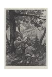 Roe Deer Shooting in Austria Reproduction procédé giclée par Richard Caton Woodville II