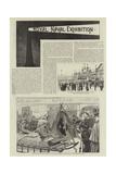 Royal Naval Exhibition Reproduction procédé giclée par Robert Barnes