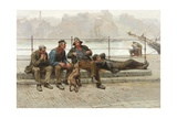 Out of Work, 1888 Giclee Print by Ralph Hedley