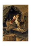 Last in Market or the Carrier's Cart Giclee Print by Ralph Hedley
